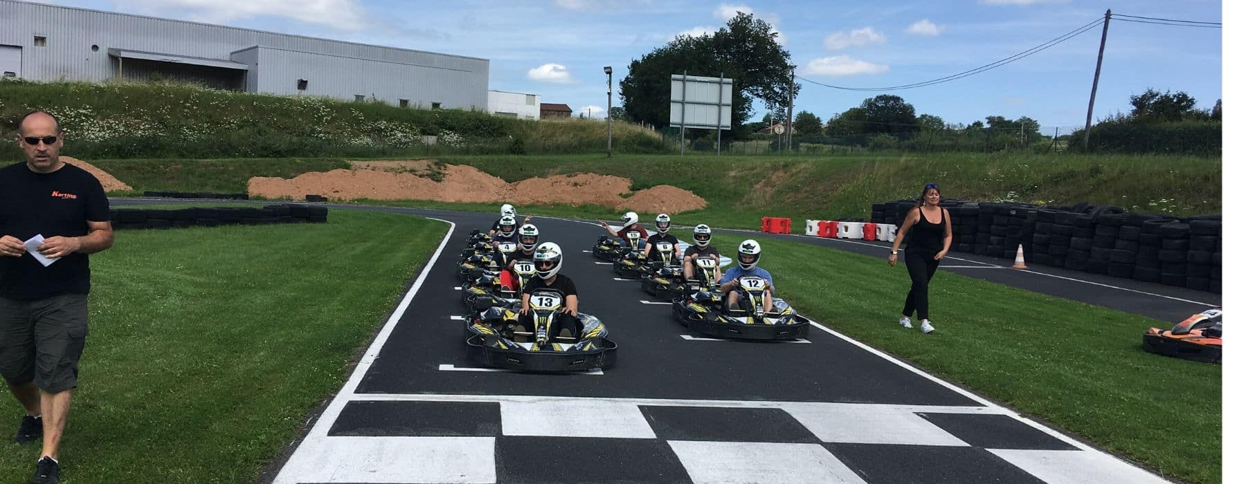 TEAM BUILDING KARTING