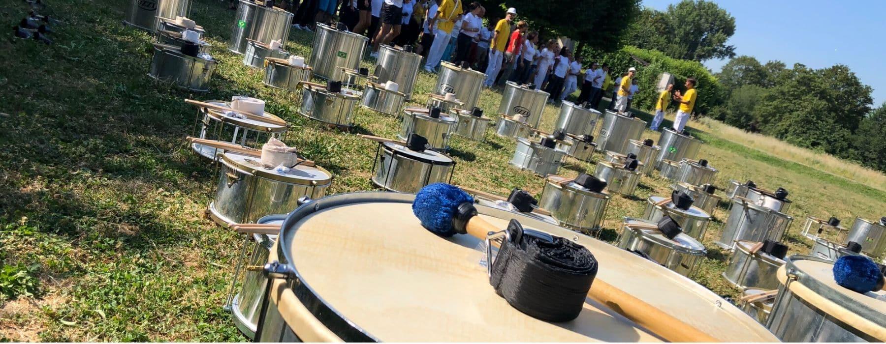 TEAM BUILDING percussions brésiliennes