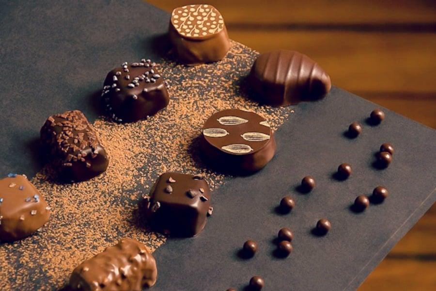 degustation chocolat
