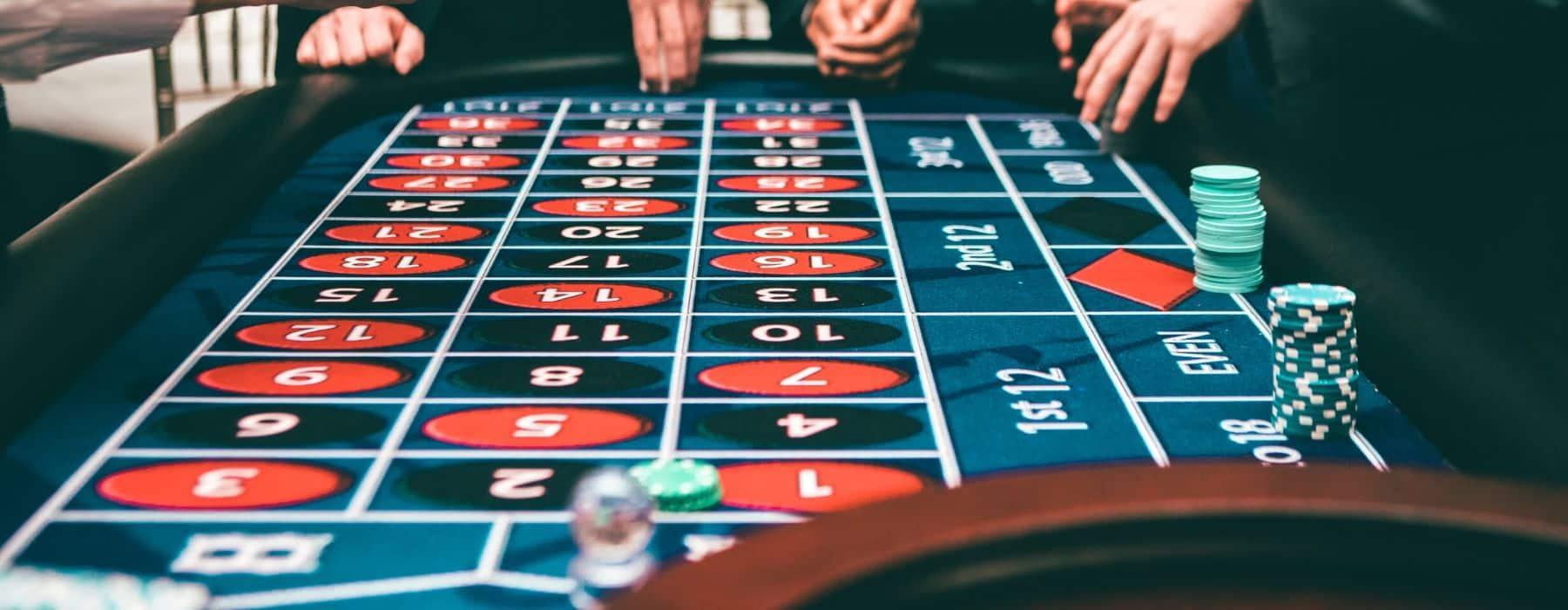 ANIMATION table de casino